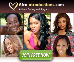 My favorite African dating site